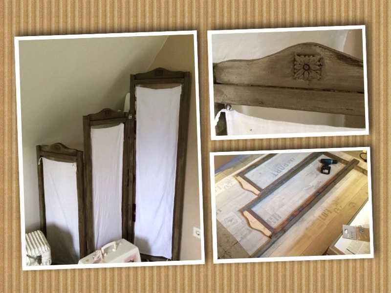 paravent selber bauen raumteiler shabby selber machen spanische wand selber machen granny 39 s. Black Bedroom Furniture Sets. Home Design Ideas